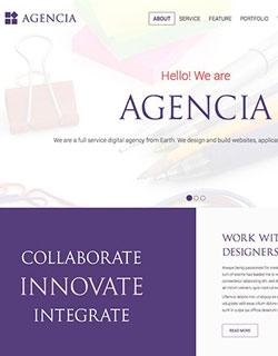 Onepage Business Wordpress Theme  Image