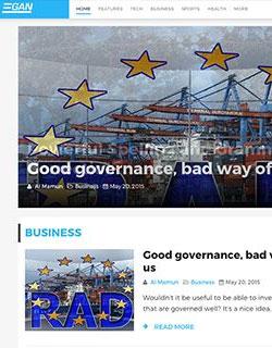 News Theme For Wordpress Image