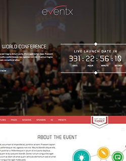 Event Template For Joomla Image