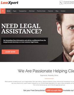 Joomla Template For Lawagency Image