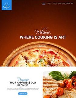 Joomla Template For Restaurent Image